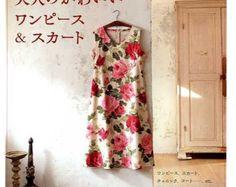 Vestito di un pezzo modelli di tunica cucito di JapanLovelyCrafts