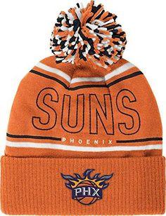 best service bf57d 65682 Phoenix Suns adidas Energy Stripe Cuffed Pom Knit