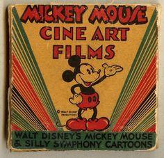 Rare Vintage Mickey Mouse Cine Art Films
