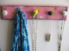 1 Of A Kind Beachy Chic Necklace Rack Hand by CountertopCouture, $40.00