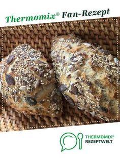 Knusper-Körner-Brötchen von Hefe62. Ein Thermomix ® Rezept aus der Kategorie Brot & Brötchen auf www.rezeptwelt.de, der Thermomix ® Community.
