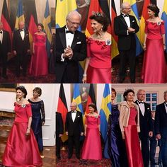 Ending with the state banquet of the Federal President at the Schloss Bellevue 🇩🇪 #kungcarlgustaf #kingcarlgustaf #kingcarlgustafofsweden #drottningsilvia #queensilvia #queensilviaofsweden #kungahuset #sverigeskungahus #kungafamiljen #SweDE2016 #berlin