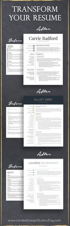 A Guide To Getting The Job Of Your Choice - Infographic Career - receptionist resume template