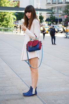 Street Style: Blogger Anna Never Says 'Never'