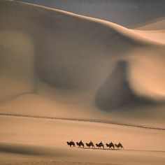 Here in Beijing to hang my exhibition The Silk Road Journey opening on March 10 at the Reignwood Cultural Center. Here's the first print the Singing Sand Dune. #Dunhuang  #Gansu #China @thephotosociety @natgeo @natgeocreative by yamashitaphoto