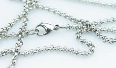 20pcs 18inch 3mm stainless steel necklace round rolo by aliyafang, $27.00