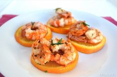 Gamberoni all'arancia, scopri la ricetta: http://www.misya.info/2014/02/06/gamberoni-allarancia.htm