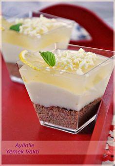 En İyi Yemek Tarifleri Sitesi-Yemek Vakti: Limonlu Bisküvili Kup