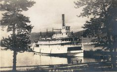 SS Sicamous on Okanagan Lake.