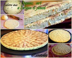 Galette aux oignons, piment et origan Gourmet Recipes, Sweet Recipes, Cooking Recipes, Tunisian Food, Algerian Recipes, Oriental Food, Bread And Pastries, Iftar, Coco