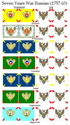 Pictures Of Flags, Medieval Banner, Frederick The Great, Seven Years' War, Imperial Russia, Napoleonic Wars, American Revolution, American Civil War, Warfare