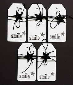 Christmas Gift Tags Etiquetas para regalos by LaBohemePapershop, €4.50