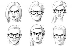 Face Shape Guide for Glasses