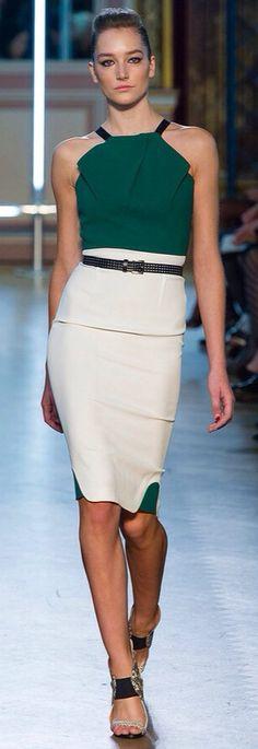 d28b171ece7bc2 Power Dressing Women, Emerald Green Top, Green Tops, Roland Mouret, Boss