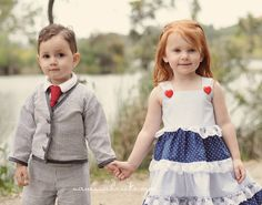 flower girl and paige boy
