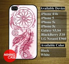 dreamcatcher  for iphone 4/4s iphone 5 iphone 5s by miningcase, $13.45