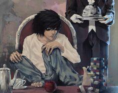 L Lawliet (Death Note) - l Fan Art