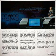 Surat Lengkap Najwa Shihab Mundur Dari Mata Najwa dan Metro TV   ForumViral.com -  Kabar yang mengejutkan datang dari Presenter sekaligus salah satu Jurnalis yang sangat terkenal di indonesia yakni Najwa Shihab yang menjadi presenter di acara Mata Najwa.   #NajwaShihab  #MataNajwa #MetroTV #Najwa #Presenter #Bawahmeja #Berita Viral #Berita Terkini #Berita Online #Berita Terpercaya #Forum Viral Berita #Berita Terupdate #Viral #Forum #berita #Hoax #Meme #Indonesia  selengkapnya…