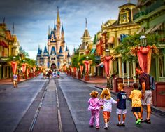 Oh how I want to be walking right down the middle of main street USA!  We will get there eventually.