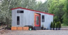 This is the SHEDsistence Tiny House. We've featured this great build in the past (and even named it one of our favorites of 2016!), but it turns out there are now new, even better images of t…