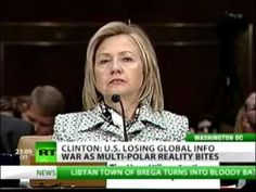 """Hillary Clinton: """"US Losing Information War to Alternative Media."""" Thats nice, acting as if alternative media only comes from Russia or China. Flat out admittance of the use of propaganda. Well, at least they are losing. We are the alternative media and we are winning!"""