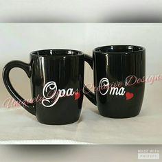 Check out this item in my Etsy shop https://www.etsy.com/listing/484872935/oma-and-opa-mug-set-nana-and-papa-mug