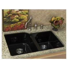 Mount Kitchen Sinks: Kitchen Sink With Ceramic Style And Picture Frame ~ lanewstalk.com Kitchen Ideas Inspiration