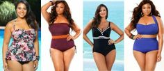 How to choose the Perfect Swimsuit for your body type Plus Size Swimsuits, Women Swimsuits, Swim Skirt, Plus Size Summer, Plus Size Beauty, Body Types, Plus Size Dresses, Bathing Suits, Beachwear