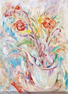 Ellen Thesleff Still Life with Flowers Female Painters, Drawing School, Nordic Art, Hidden Pictures, Art Society, Modernism, Impressionism, Art Boards, Flower Art