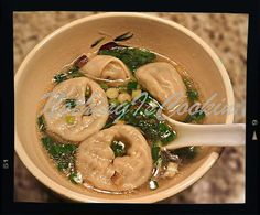 Dumpling /Wonton Soup