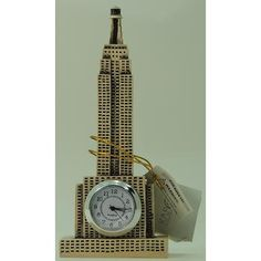 Show Piece - Empire State Building With Clock Each