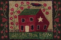 Hooked rugs - patterns by teresa kogut