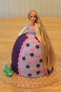 my mom definitely made me a barbie cake when i was little...if i ever have a girl, she will have one as well.