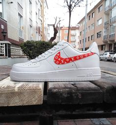Custom Nike X Air Force 1 Supreme X Nike Lv Zapatillas Pinterest Nike 832a22
