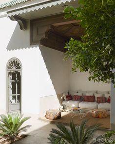 Home in Marrakech - Moroccan Home - ELLE DECOR