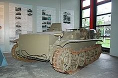 Sdkfz. 301 Borgward B IV demolition tank. The largest German demo tank, the Borgward IV carried a detachable explosive payload of up to 450 kg, to be used to demolish fortifications and minefields