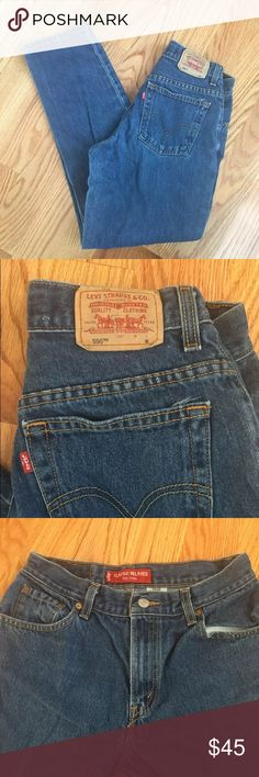 Levi Brand Classic Relaxed 550 Jeans VINTAGE Levi Classic Relaxed Size 8M VINTAGE Levi's Jeans