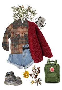 """""""hiking/leaf collecting"""" by lemonscentedgay on Polyvore featuring Crate and Barrel, Sony, Chicwish, C. Jeré and Fjällräven"""