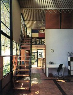 Eames House - Case Study House 8 - Charles and Ray Eames