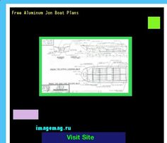Free Aluminum Jon Boat Plans 093407 - The Best Image Search