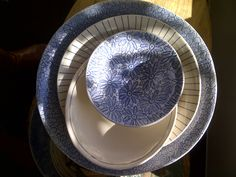 Loving all the blues especially these royal blue WonkiWare bowls - available at Blink, www.theblinkshop.co.za