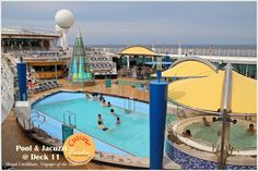 Voyager Of The Seas - Royal Caribbean International  ~ Pool and Jacuzzi Facilities available at Deck 11