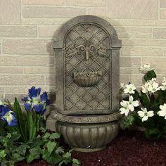 outdoor classics venetian outdoor wall fountain
