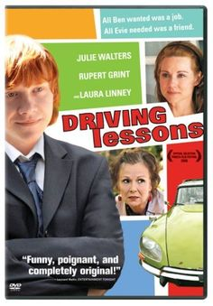 Driving Lessons - nice pairing of Julie Walters and Rupert Grint who played mother and son in the HP series.