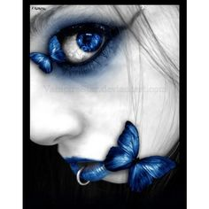 Dark Myspace Backgrounds, Dark Backgrounds For Myspace, Myspace Dark... ❤ liked on Polyvore featuring backgrounds, people, blue, eyes and makeup