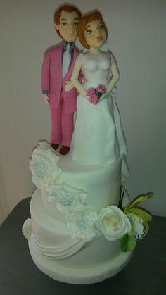 Casamento noivo noiva rosa flores
