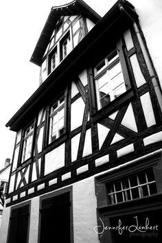 German home. Heidelberg, Germany.
