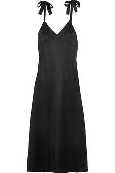 Black silk Slips on 100% silk Dry clean