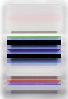 ipocrisia:  Christian Haub, Roy Orbison Float, 2013Cast acrylic sheet, 80 x 48 x 4 in