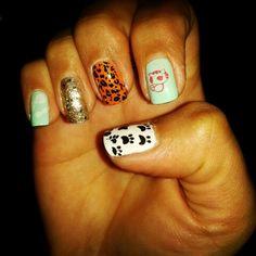 Nail art stamp ♥ pets
